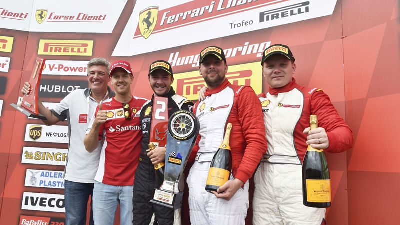 Ferrari Challenge Europe Double for Grossmann and Nelson as Hladik shines in Budapest