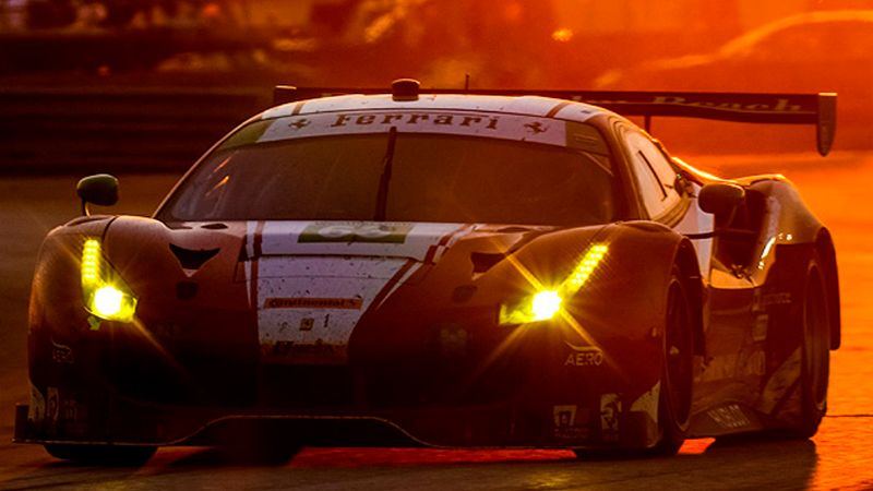 IMSA – 12 Hours of Sebring – Double Podium Finish for Ferrari